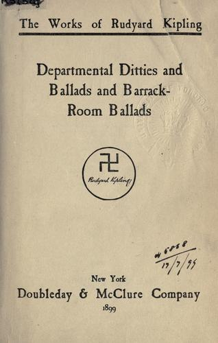 Download Departmental ditties, and Ballads, and Barrack-room ballads.
