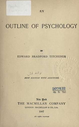 An outline of psychology.