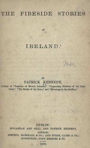 Download The fireside stories of Ireland