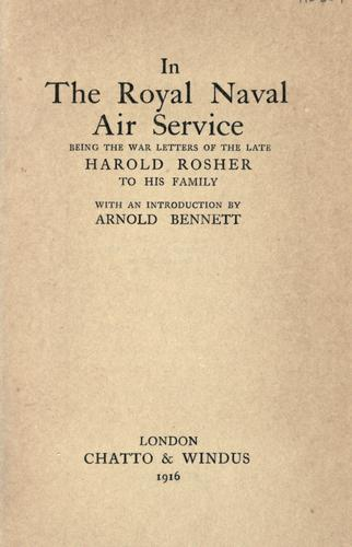 Download In the Royal naval air service