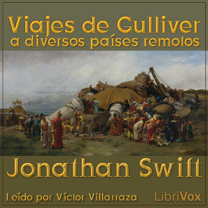 Viajes de Gulliver a diversos países remotos(11606) by Jonathan Swift audiobook cover art image on Bookamo