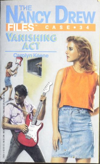 VANISHING ACT by Carolyn Keene