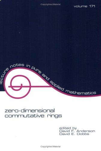Zero-dimensional commutative rings by