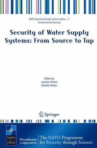 Security of water supply systems by