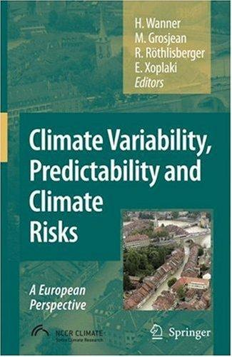 Climate variability, predictability and climate risks by