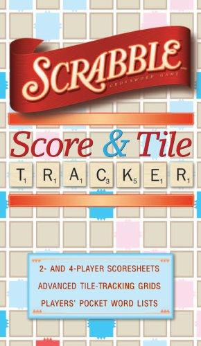 SCRABBLE Score & Tile Tracker by Inc. Sterling Publishing Co.