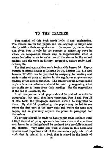 Progressive Lessons in English by Sidney Grant Firman