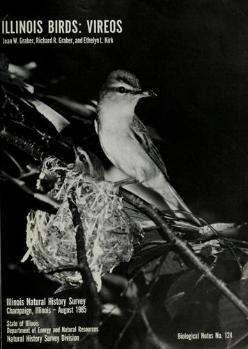 Illinois birds, vireos by Jean W. Graber