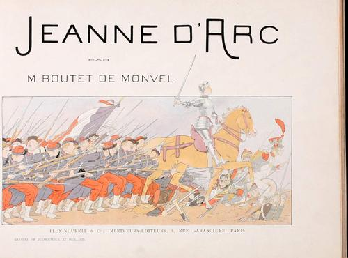 Jeanne D'Arc by Louis-Maurice Boutet de Monvel