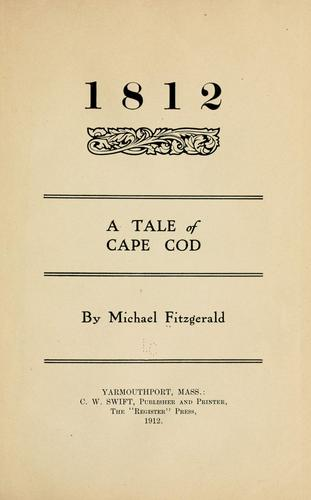 1812 by Fitzgerald, Michael