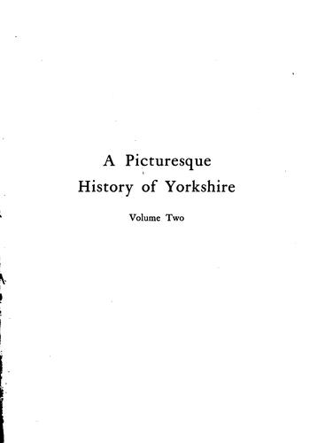 A Picturesque History of Yorkshire by Joseph Smith Fletcher