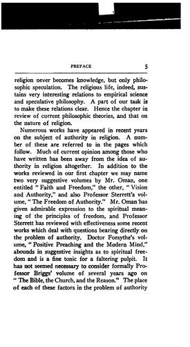 Freedom and Authority in Religion by Edgar Young Mullins