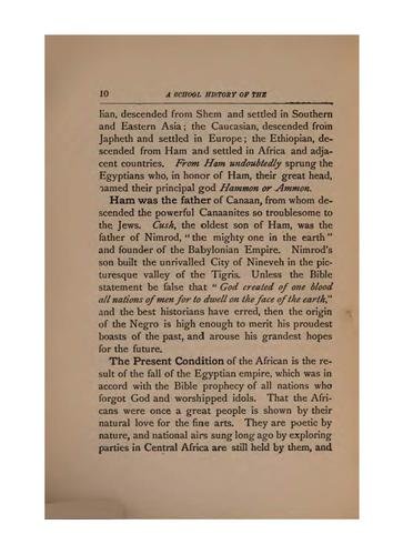 A School History of the Negro Race in America from 1619 to 1890 by Edward Austin Johnson
