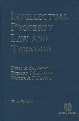 Intellectual property law and taxation