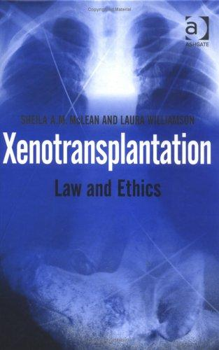 Xenotransplantation by Sheila McLean