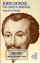 John Donne by A. J. Smith