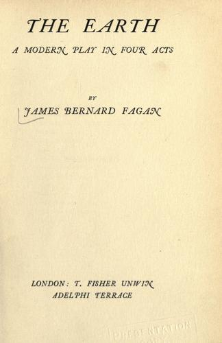The earth by James Bernard Fagan