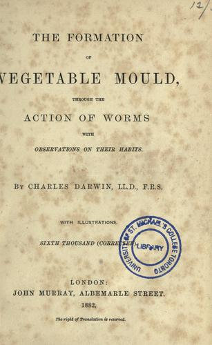 The  formation of vegetable mould