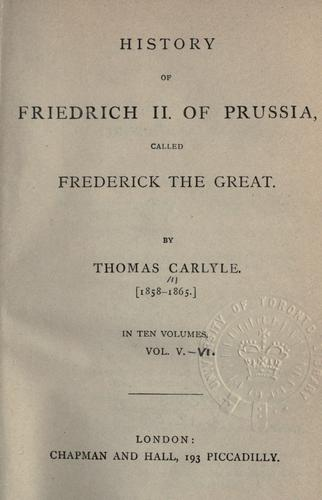 History of Friedrich 2 of Prussia, called Frederick the Great.