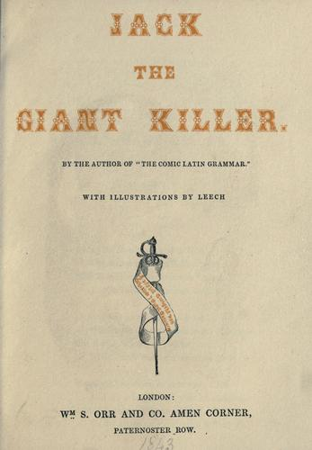 Jack the giant killer by Leigh, Percival