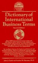 Dictionary of international business terms