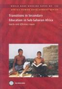 Transitions in secondary education in Sub-Saharan Africa by