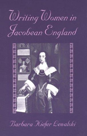Writing Women in Jacobean England