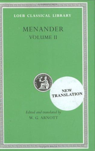 Menander by Menander of Athens.