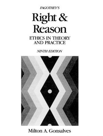 Right and reason by Austin Fagothey