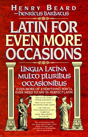 Latin for even more occasions by Jean Little