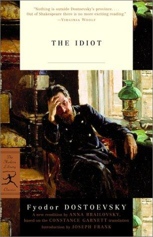 The idiot by Fyodor Mikhailovich Dostoyevsky