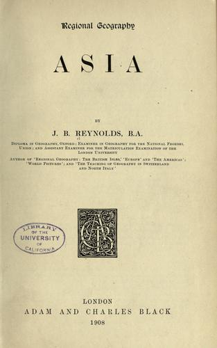 Asia by Joan Berenice Reynolds
