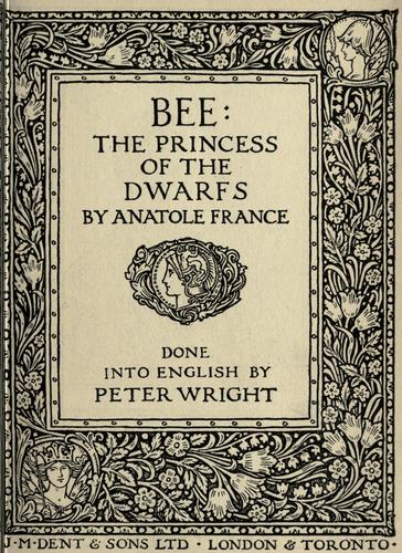 Bee by Anatole France
