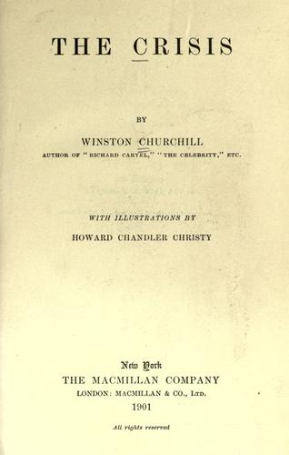 The crisis by Winston Churchill
