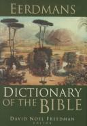 Eerdmans Dictionary of the Bible by