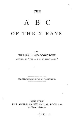 The ABC of the X rays by